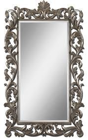 Uttermost Mirror Uttermost Molise Large Silver Mirror 12824