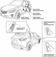 mazda cx 5 service u0026 repair manual power window system glass