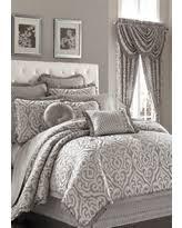 Silver Comforter Set Queen Great Deals On J Queen New York Luxembourg Full Comforter Set In