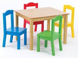 tot tutors table chair set tot tutors kids table and 4 chair set primary wood tot tutors http