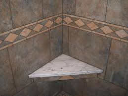 accessories corner granite shower bench with granite wall and