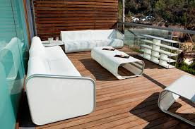 White Aluminum Patio Furniture by Simple And Cozy Patio Furniture Sets For Outdoor Decoration