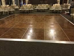 outdoor floor rental floor rental orlando area central florida wedding warehouse