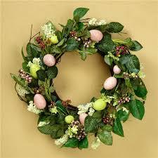 easter egg wreath lillian vernon easter indoor decor lillian