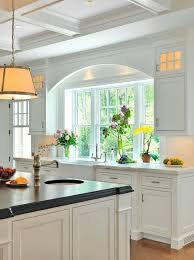 Distance Between Island And Cabinets My Kitchen Remodel Windows Flush With Counter The Inspired Room