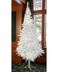 savings artificial pre lit treeforest snowball fir