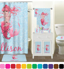 Bathroom Decor Set by Mermaid Bathroom Accessories Set Ceramic Personalized Potty