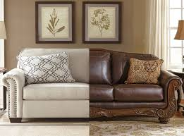 Fabric Leather Sofa Fabric Sofa Vs Leather Sofa