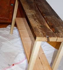 Make Your Own Reclaimed Wood Desk by Diy Reclaimed Wood Table Isn U0027t That Charming