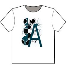 alphabetic t shirt design galleries for inspiration