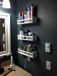 shelf liners ikea ikea bekvm spice rack saves space on awesome ikea hacks for an organized bathroom