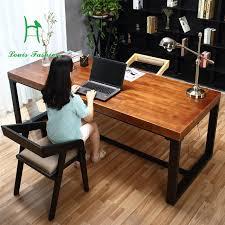 bureau vert pur solide bureau en bois simple ordinateur de bureau vert bureau d