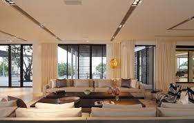 modern living room design christmas lights decoration