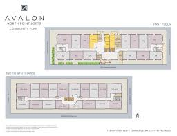 Boston College Floor Plans by Cambridge Apartments Near Boston Ma Avalon North Point Lofts