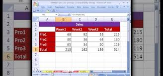 How To Set Up Spreadsheet In Excel How To Set Up Headers Footers Across Sheets In Ms Excel