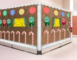 gingerbread cubicle xmas crafts Pinterest