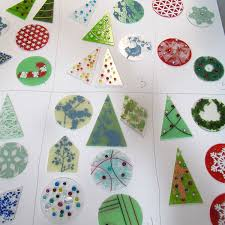 ornaments in kiln glass los angeles glass fusing classes
