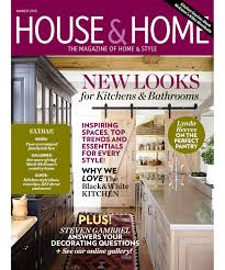 House And Home Magazine by James M Davie Design Inc Publications