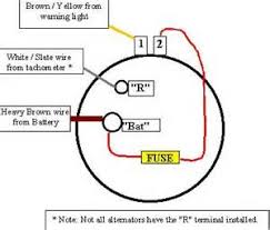 what u0027s the proper way to wire an alternator u2013 rod forum