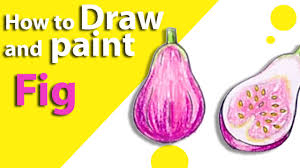 lychee fruit drawing learn how to draw a fig fruit kids drawings drawing fruits