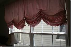 How To Make Balloon Shade Curtains Design Intervention A Balloon Shade From A Panel Curtain