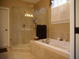 Bathtub Shower Ideas Bloombety Master Bath Shower Remodeling Idea Master Artistic
