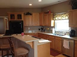 painted kitchen cabinets with stained doors thoughts on painting kitchen cabinets