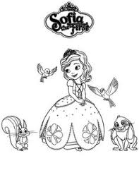 sofia coloring pages sofia floating