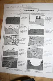 cut and paste landforms sheet http www superteacherworksheets
