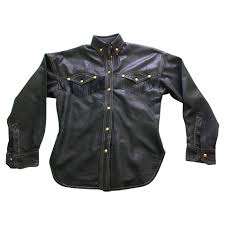 leather blouse gianni versace leather blouse buy second gianni versace