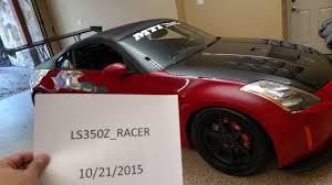 nissan 350z v8 for sale fs 2003 350z red track 14 900 miles 6 speed v8 atlanta