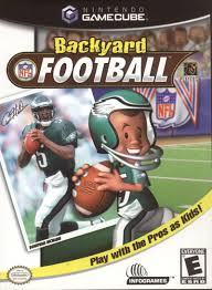 Kids Playing Backyard Football Backyard Football 2002 Gamecube Box Cover Art Mobygames