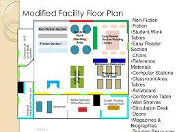 facility floor plan media center facility plan