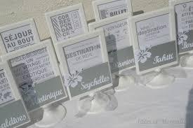 noms de table mariage marque table theme voyage iles idees et merveilles