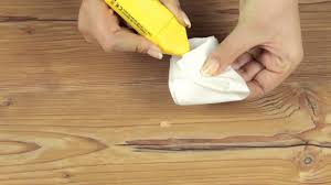 Removing Scratches From Laminate Flooring To Repair Small Scratches With Hard Wax Youtube