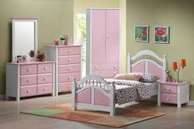 pink and white painted wooden bed frame caribbean 3ft single bed