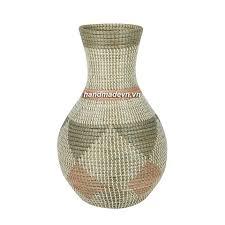 Decoration Vase Seagrass Decoration Vase Halinh Rattan U0026 Bamboo