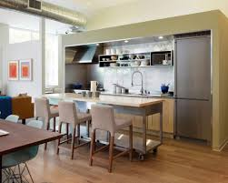 White Laminate Kitchen Cabinets Kitchen Simple Basic Kitchen Design With Modern Cabinets White