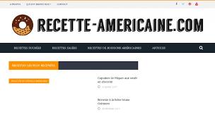 site recettes cuisine recettes de cuisine et pâtisserie americaine recettes cuisine