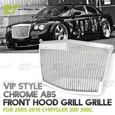 chrysler 300 vs phantom fits 05 10 chrysler 300 300c chrome vip phantom style hood bumper