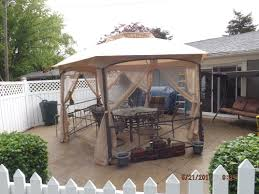 Mainstays Gazebo Replacement Parts by Walmart Crossman Hexagon Replacement Canopy And Netting Garden Winds