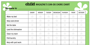 best chore chart for kids u0026 chore chart templates