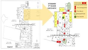 fire escape floor plan lsst steward observatory project lsst org