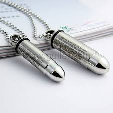 custom engraved jewelry custom engraved matching bullets pair couples necklaces for two