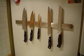 magnet for kitchen knives look magnetic knife rack for the fridge apartment therapy