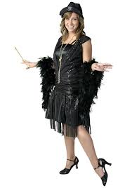 flapper 1920 u0027s black fringe 1920 u0027s flapper costume