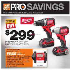 home depot black friday 2016 milwaukee tools home depot canada flyers