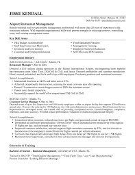 Quality Manager Resume Sample by Assistant Restaurant Assistant Manager Resume