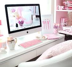Girly Office Desk Accessories Updated Desk Tour Room Pinterest Desks Girly And Videos
