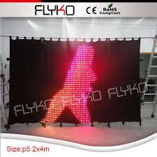 Portable Stage Curtain Aliexpress Com Buy Portable Stage Curtain Backdrop For Dj Led